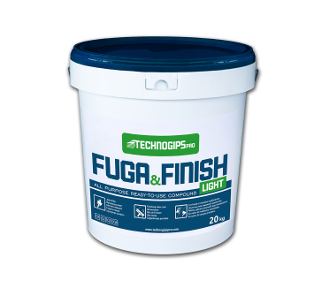 FUGA & FINISH Light ready-to-use compound